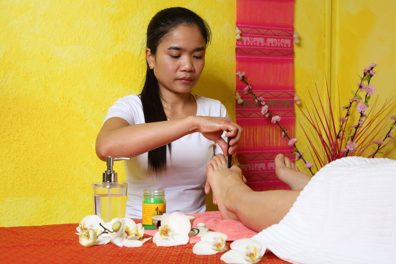 Thai Fußreflexzonenmassage - Traditionelle Thai Massage