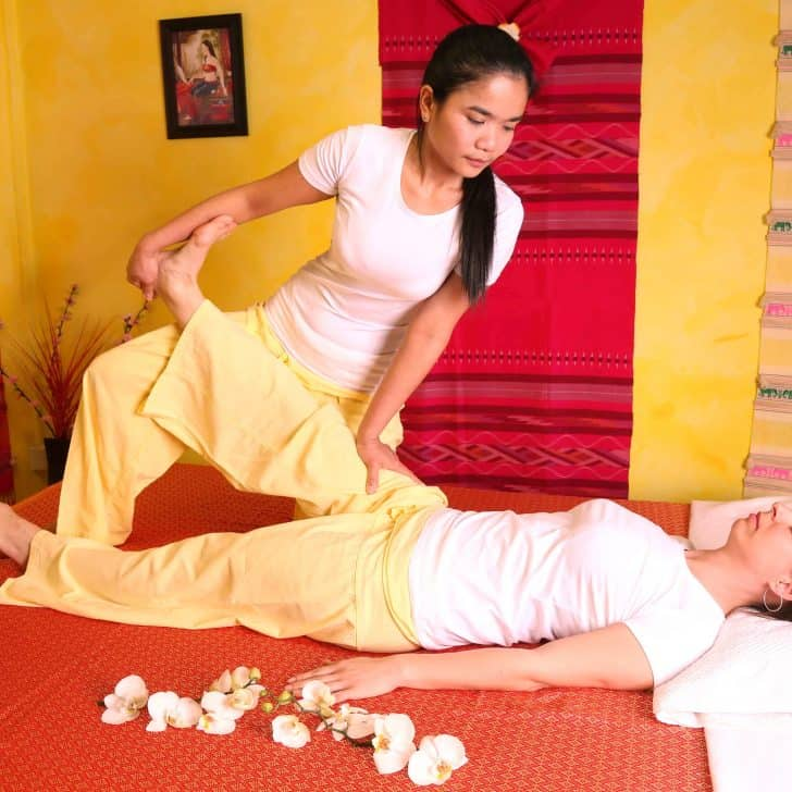 Thai massage in dresden